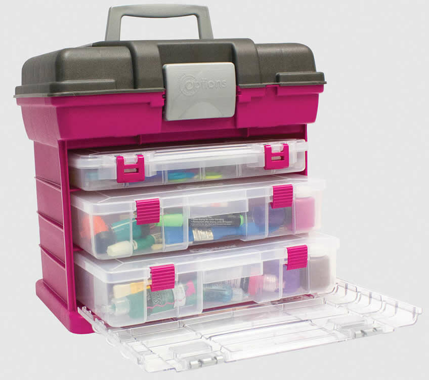 Grab n go rack system storage box large only for Boite rangement couture plastique
