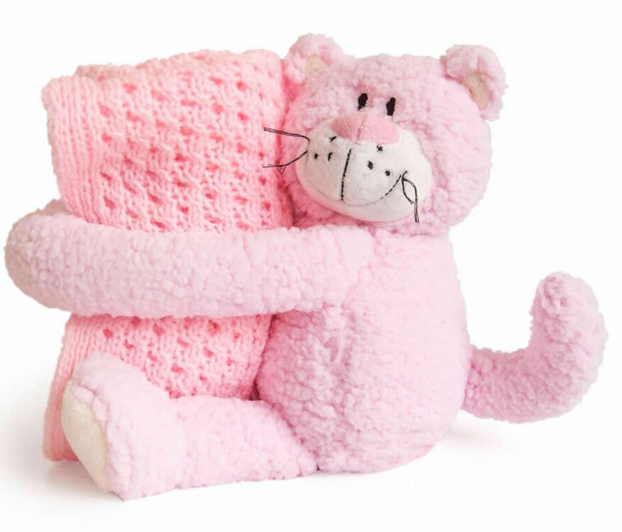 Baby Knitting Kits Uk : Baby hugs cat knitting set only £