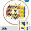 Here Cross Stitch Kit With Hoop additional 3