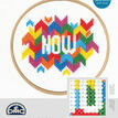Now Cross Stitch Kit With Hoop additional 3