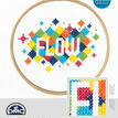 Flow Cross Stitch Kit With Hoop additional 3