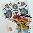 Beginners Folk Flowers - Learn How To Cross Stitch Complete Tutorial Kit additional 3