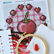 Beginners Cherry - Learn How To Cross Stitch Complete Tutorial Kit additional 3