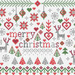 Little Merry Christmas Cross Stitch Kit additional 1