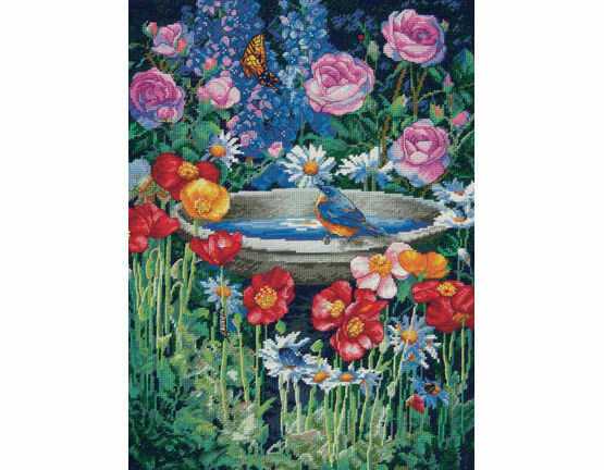 Garden Reflections Cross Stitch Kit
