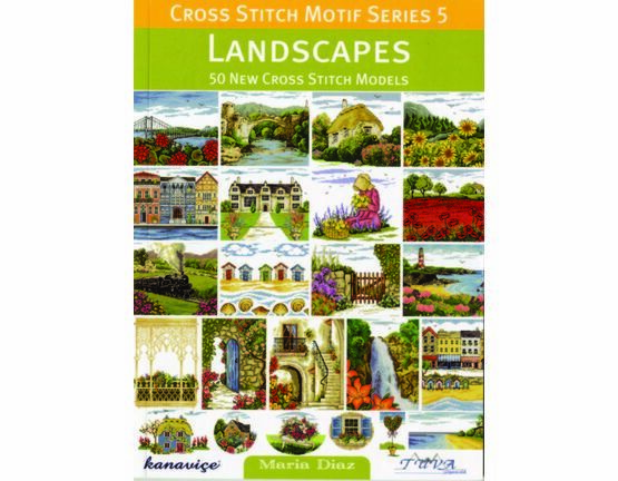 Landscapes Cross Stitch Chart Book