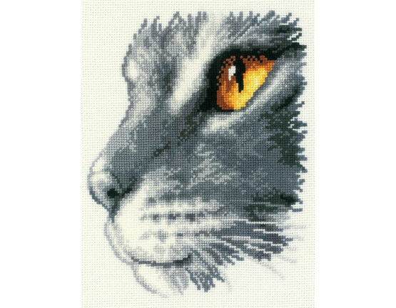 Majestic Cat Cross Stitch Kit