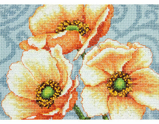 Windflowers Cross Stitch Kit