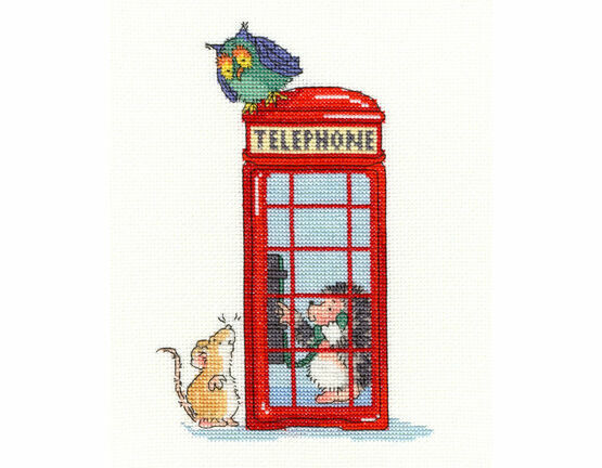 London Calling Cross Stitch Kit