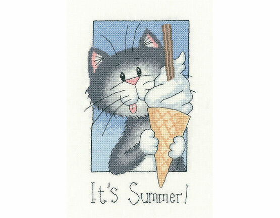 It's Summer Cross Stitch Kit