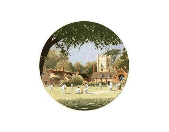 Sunday Cricket Cross Stitch Chart