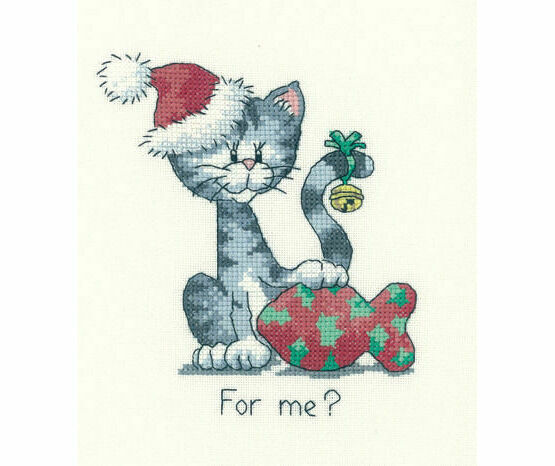 For Me? Cross Stitch Kit