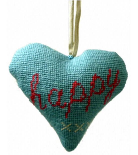 Happy Lavender Heart Tapestry Kit