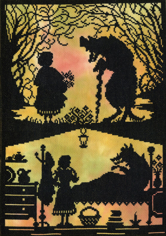 Little Red Riding Hood Cross Stitch Kit