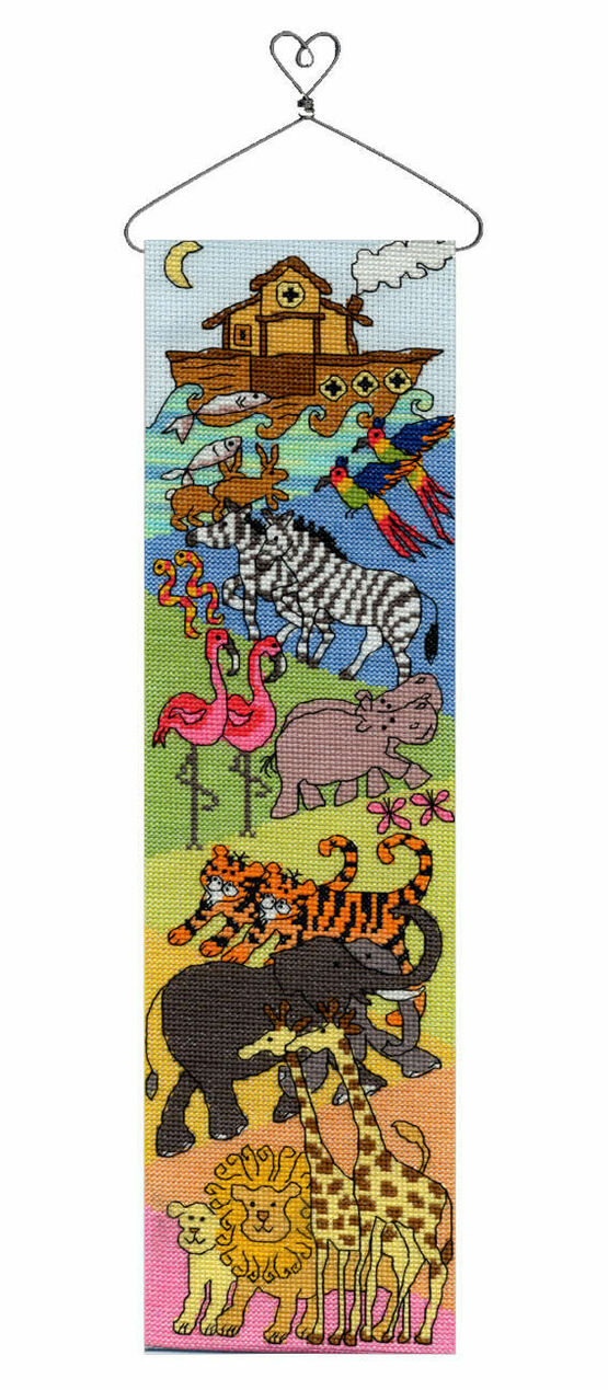 Noah's Ark Hang-Up Cross Stitch Kit