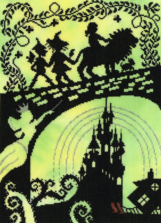 Wizard Of Oz Cross Stitch Kit