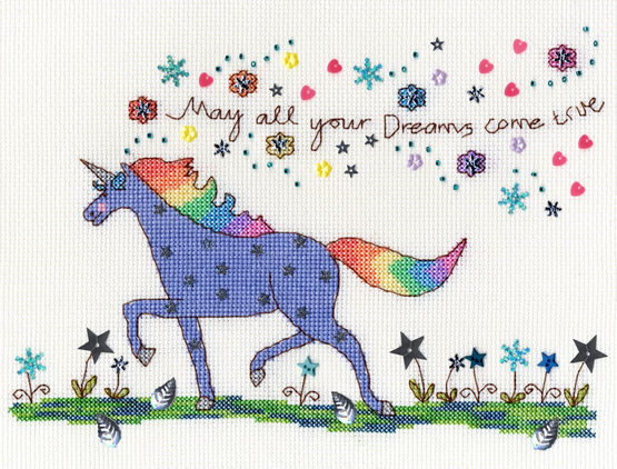 Love Dreams Cross Stitch Kit