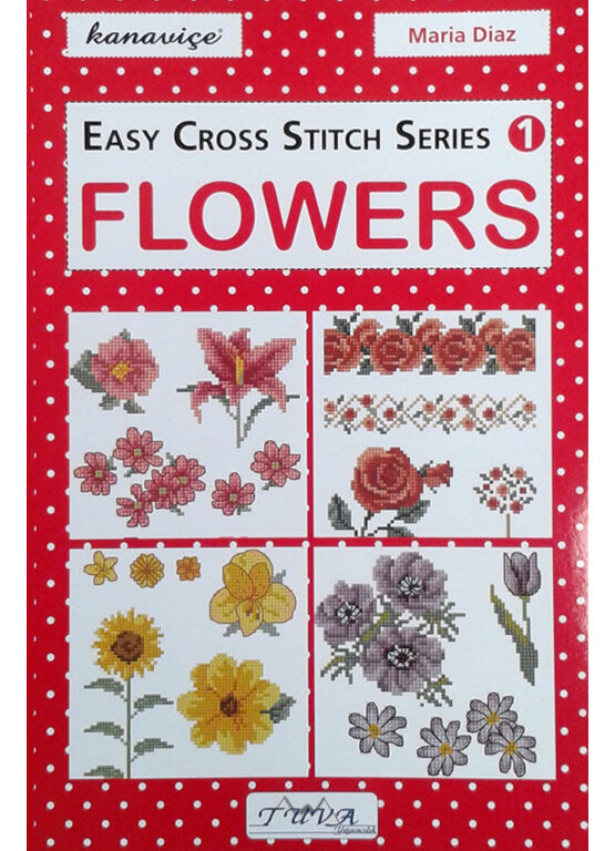 Flowers - Easy Cross Stitch Book