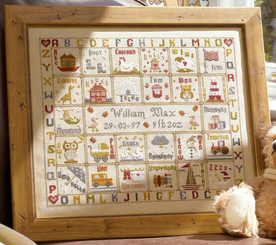 A Is For Ark Cross Stitch Kit