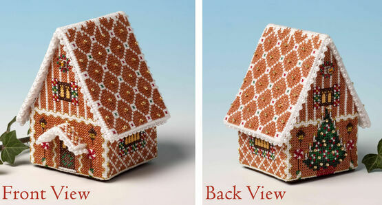 Gilding The Gingerbread House 3D Cross Stitch Kit