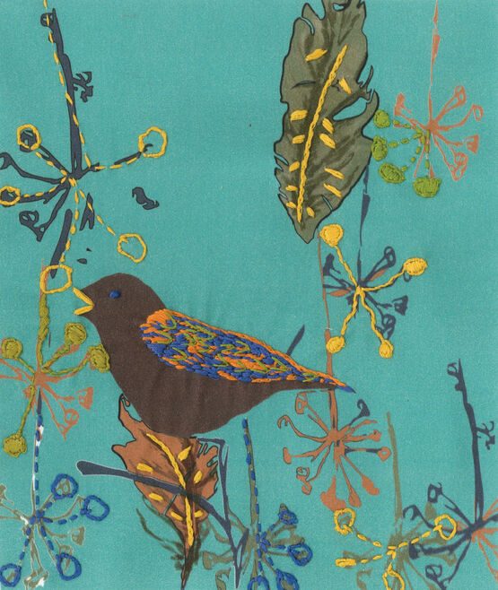Song Bird Embroidery Kit