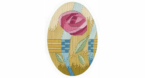 Miniature Mackintosh Long Stitch Card Kit