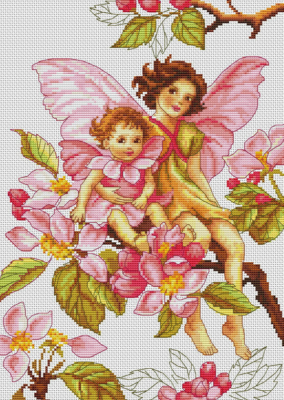 Blossom Fairies Cross Stitch Kit